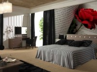 3D обои в спальню: 70 фото, обзор примеров с описанием