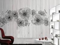 Флизелиновые обои в интерьере — 100 фото новинок дизайна