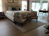 Ковер в спальню — новинки стильного дизайна 2017 года