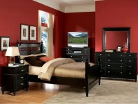 Красная спальня — 100 фото яркого и стильного дизайна
