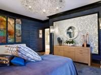 Синяя спальня — 70 фото идей безупречного дизайна