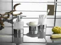 Аксессуары для ванной комнаты — фото обзор модных дизайнерских новинок (100 идей)