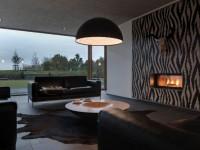 Черная гостиная — 115 фото стильного дизайна