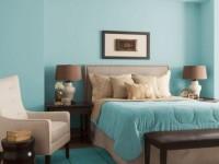 Спальня с голубым оттенком — 100 фото дизайна