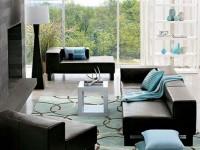 Гостиная бирюзового цвета — 70 фото идеального сочетания цвета в интерьере