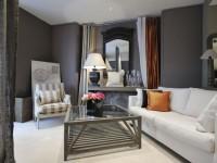Серая гостиная — 110 фото примеров оформления дизайна в серых тонах