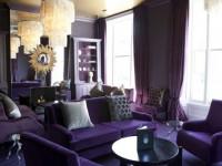 Сиреневая гостиная — фото примеры лучших идей сиреневого цвета в интерьере