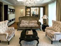 Гостиная в стиле арт-деко — 130 фото изумительного дизайна