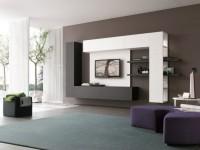 Гостиная в стиле минимализм — 105 фото новинок дизайна