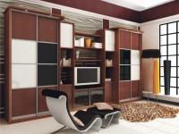 Шкафы для гостиной: ТОП-150 фото новинок