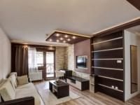 Шоколадная гостиная — 75 фото идеального сочетания коричневой гостиной