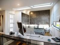 Совмещенная спальня — обзор эффективных методов зонирования — 100 фото идей