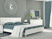 Спальня глянец — 100 фото красивого оформления дизайна глянцевой спальни