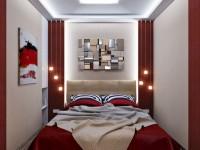 Спальня в хрущевке — 120 фото нестандартного дизайна