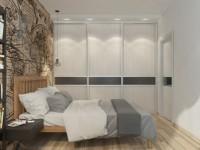 Спальня в серых тонах — фото красивого дизайна интерьера спальни