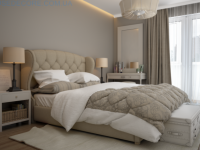 Светлая спальня — 70 фото дизайна спальни в позитивном тоне