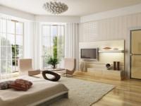Телевизор в спальне — 90 фото идеального оформления в интерьере