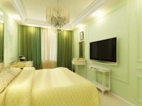 Зеленая спальня — 55 фото необычного интерьера зеленого цвета