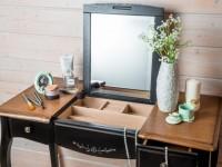 Столик в спальне — главный атрибут каждой женщины (100 фото дизайна)