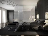 Темная спальня — 120 фото элегантного дизайна в спальной комнате