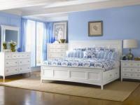Голубая спальня — 100 фото элегантного дизайна в спальне