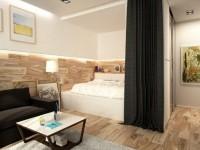Спальня в однокомнатной квартире — как оформить дизайн? 100 фото лучших идей