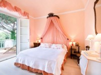 Персиковая спальня — стильный интерьер спальни в персиковых тонах + 100 фото
