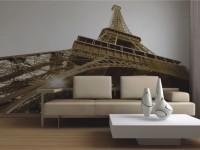 Фотообои в гостиную — 90 фото вариантов дизайна гостиной с фотообоями