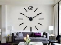 Настенные часы в гостиной — как оформить в интерьере? 80 фото идей дизайна!