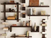 Полки в гостиную — 85 фото вариантов дизайна