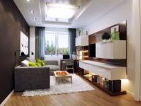 Проходная гостиная — как оформить удобный дизайна (88 фото)