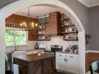 Арка на кухню — варианты красивого оформления (60 фото)