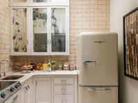 Дизайн кухни с холодильником — идеи правильного и рационального размещения (97 фото)
