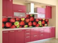 Фартук для кухни из стекла — как выбрать? 70 фото идеального сочетания на кухне!