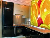 Фотообои для кухни: стили, советы, правила, разновидности — 110 фото дизайна