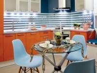 Кухня в морском стиле (77 фото): дизайн интерьера и особенности стиля