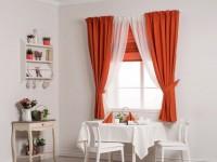 Короткие шторы на кухню — какие сейчас в моде? 80 фото модного дизайна!