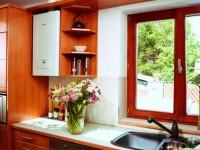 Котел на кухне — как его скрыть и задекорировать? 100 фото свежих идей.