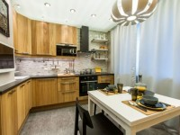 Кухня 10 кв. м. — эффективные способы зонирования и тенденции дизайна (100 фото)