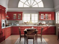 Кухня бордового цвета — положительные и отрицательные стороны бордового дизайна в кухне (60 фото)