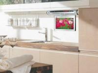 Маленький телевизор на кухню — как выбрать и установить? 100 фото готовых решений и дизайна!