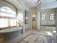 Мозаика в интерьере ванной комнаты — стильный и современный дизайн (120 фото)