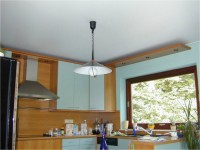 Натяжной потолок на кухне: советы по дизайну и выбору цвета (100 фото)