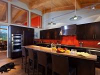 Оранжевая кухня — стильный дизайн. 70 фото-идей сочетания с другими цветами.