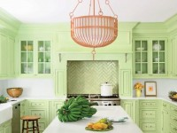 Кухня фисташкового цвета — примеры идеального комбинирования для кухни (45 фото)