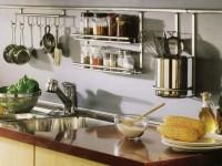 Рейлинги для кухни: удобство и функциональность на кухне. 100-фото новинок!