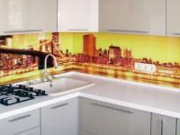 Скинали для кухни — фото дизайна и рекомендации по выбору кухонного фартука