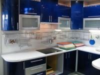 Кухня синего цвета — как правильно сочетать синий оттенок в интерьере кухни (60 фото)