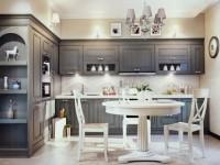 Кухня серого цвета — обзор всех оттенков серого цвета для кухни (77 фото дизайна)
