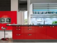 Кухня красного цвета — как правильно ее сочетать? 100 фото яркого дизайна в кухне